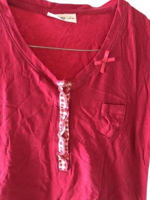 Pyjama rouge framboise