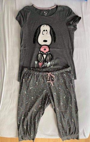 Peanuts Pyjama gris