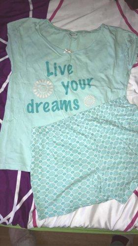 Pijama azul bebé