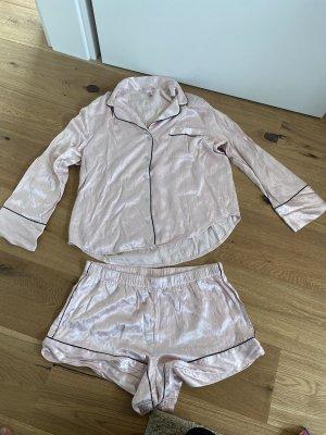 Pink Victoria's Secret Pyjama rose-gold-coloured