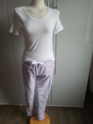 Pyjama blanc-violet