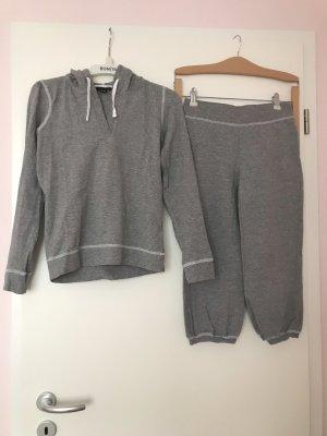 Pyjama Hausanzug Jogginganzug grau, H&M 32-34