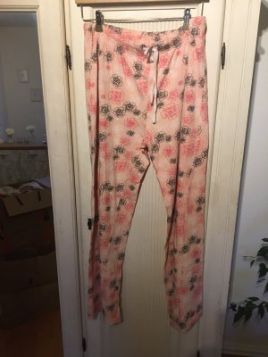 Pyjama abrikoos-zalm