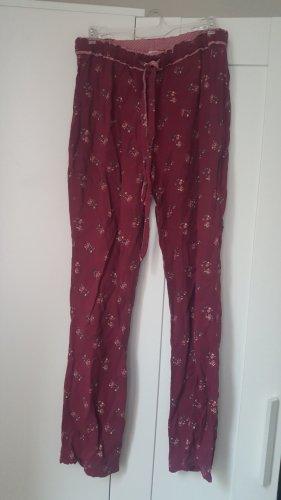 Oysho Pijama rojo oscuro-verde
