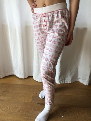 Basefield Pyjama wit-donkerrood