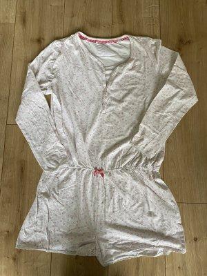 C&A Piżama biały-jasny różowy