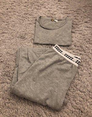 H&M Pyjama gris clair