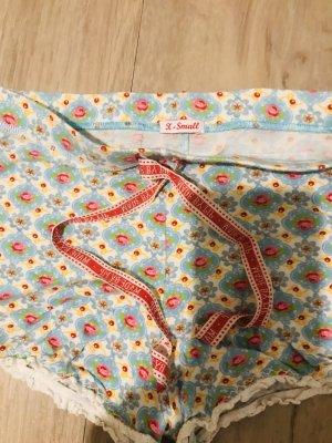 Pip studio Pijama blanco-rojo neón
