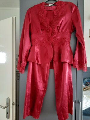 Pierre Cardin Pijama rojo oscuro