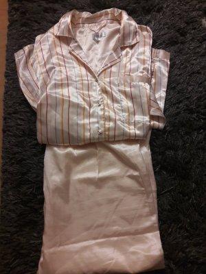 Pyjama Satin-Pyjama glänzend