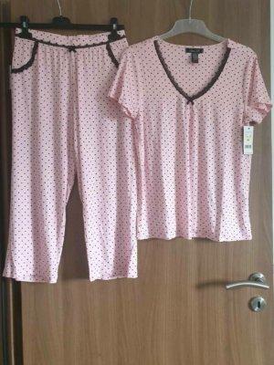 Renė Rofė Pyjama brown-pink