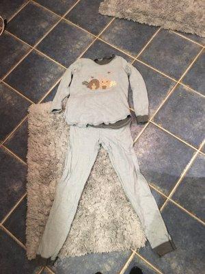 Intimissimi Pyjama leigrijs-donkerblauw