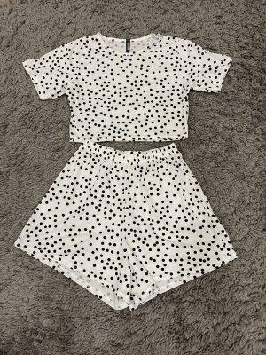 PrettyLittleThing Pyjama zwart-wit