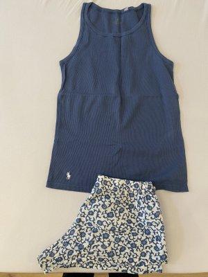 Polo Ralph Lauren Pyjama white-blue