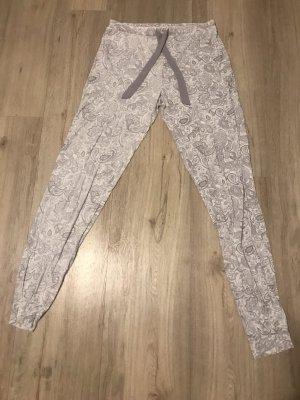 Hunkemöller Pijama blanco-color plata