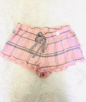 Pyjamas kurzehosen rosa mit Etikett