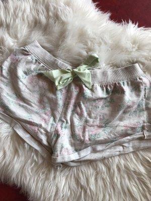 Pyjamashorts Blümchen