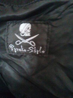 100% Fashion Leren jas zwart