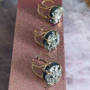 Pyrite Ring Gemstone Jewellery