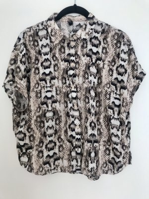 Python-Muster Bluse Gr.S