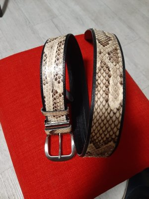 0039 Italy Leather Belt multicolored