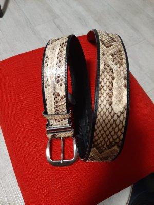 0039 Italy Cintura di pelle multicolore