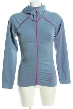 Pyua Urban Sportjacke blau-pink sportlicher Stil