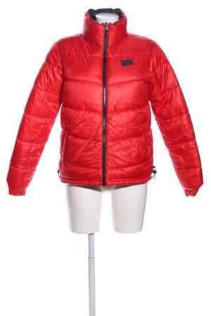 Pyua Urban Reversible Jacket red-black printed lettering casual look