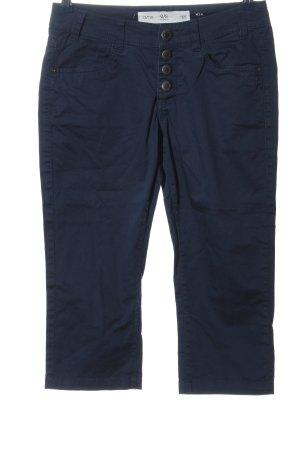 Q/S Pantalon 3/4 bleu style décontracté
