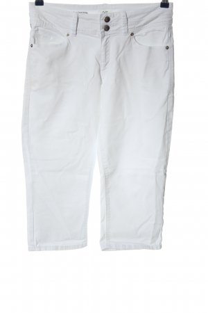 Q/S 3/4 Length Trousers white casual look