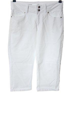 Q/S Pantalon 3/4 blanc style décontracté