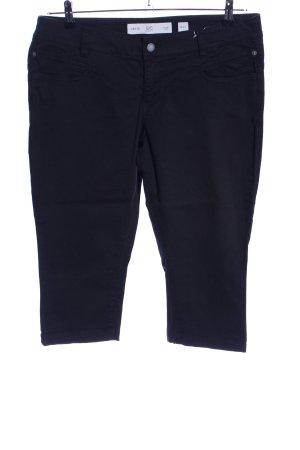 Q/S Pantalon 3/4 noir style décontracté
