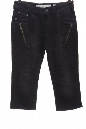 Q/S 3/4 Length Jeans black casual look