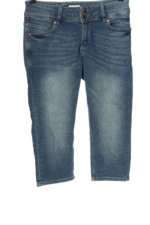 Q/S 3/4 Jeans blau Casual-Look