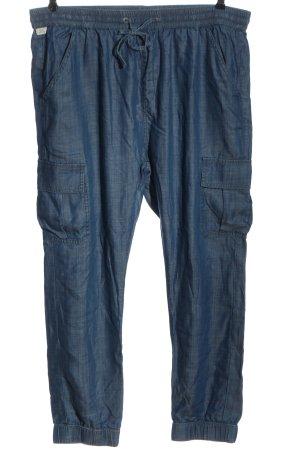 Q/S Pantalon «Baggy» bleu style décontracté