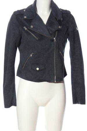 Q/S Biker Jacket blue casual look