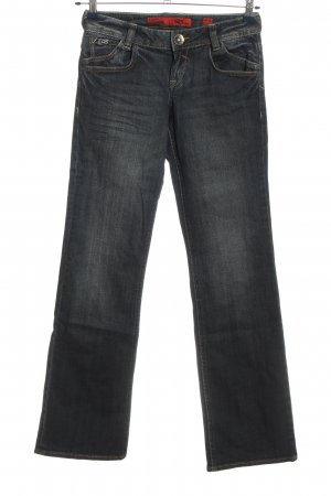 Q&S by S.Oliver Jeansschlaghose blau Casual-Look