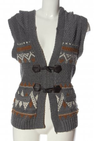 Q&S by S.Oliver Hooded Vest graphic pattern casual look
