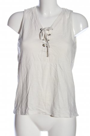 Q/S Camisole weiß Casual-Look