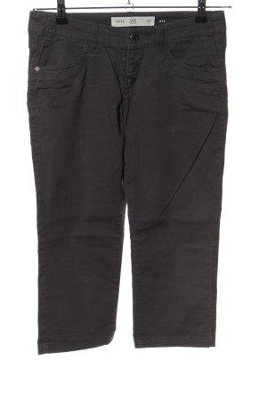 Q/S Pantalon capri brun style décontracté