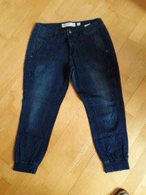 Q/S Pantalone a 3/4 blu scuro