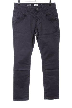 Q/S Pantalon taille haute noir style décontracté