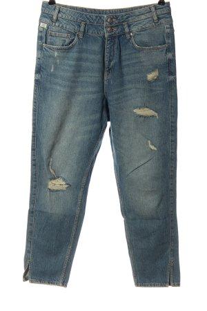 Q/S High Waist Jeans blau Casual-Look