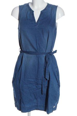 Q/S Jeansjurk blauw casual uitstraling