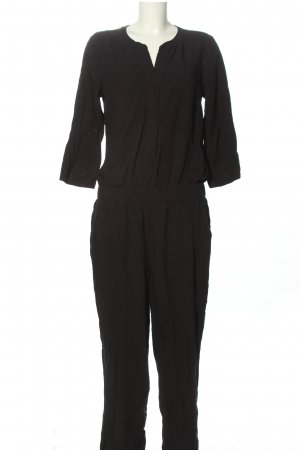 Q/S Jumpsuit schwarz Business-Look