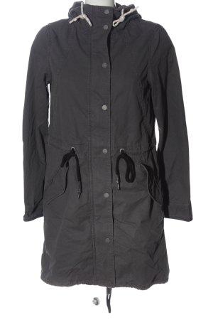 Q/S Veste à capuche gris clair style décontracté