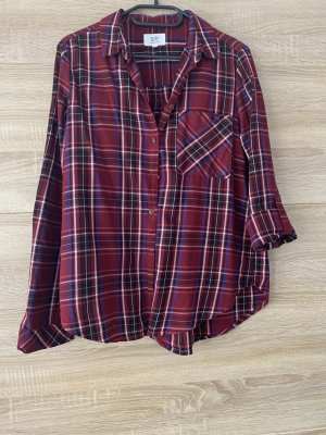 QS by s.Oliver Shirt Blouse dark red-carmine