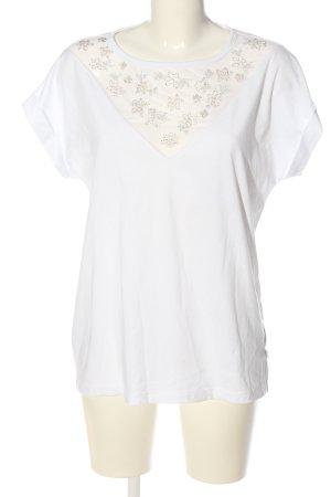 Q/S T-Shirt weiß Casual-Look