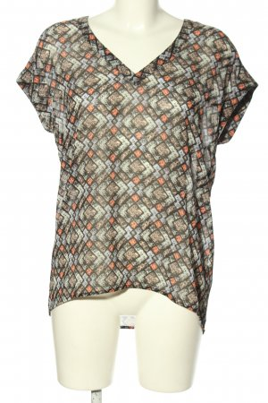 Q/S Kurzarm-Bluse Mustermix Casual-Look