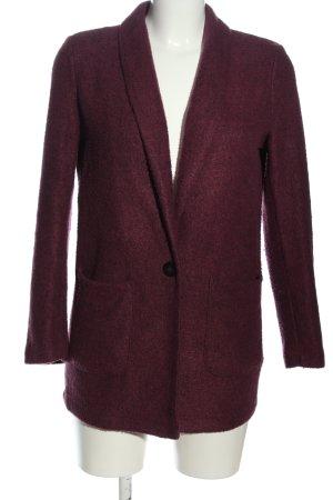 Q/S Blazer lungo rosso stile casual